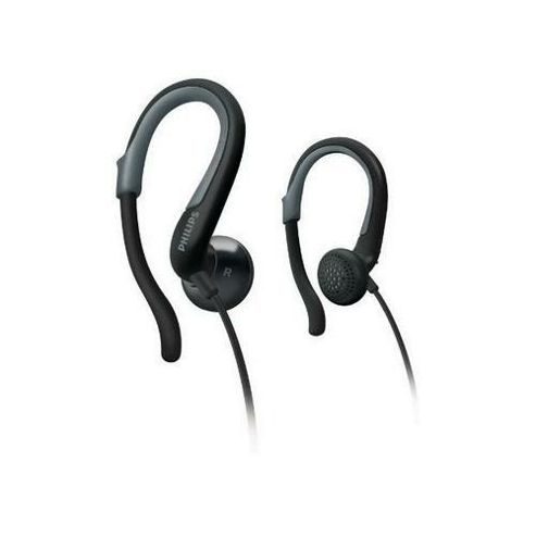 Philips SHS4841/10 Earhook Headphones for iPod & iPhone - Black