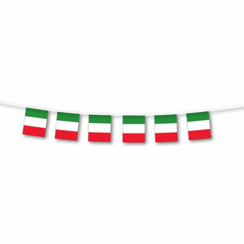 Party - Small Italy Flag Bunting - Amscan