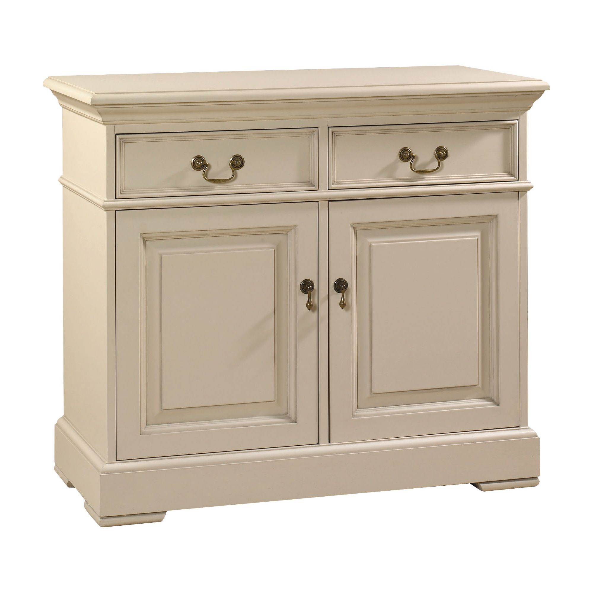 YP Furniture Country House Two Door Sideboard - Oak Top and Ivory at Tescos Direct
