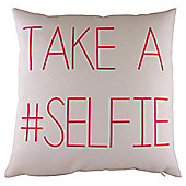 Take a Selfie Cushion Pink