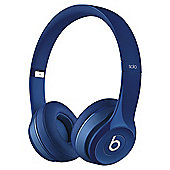 Beats Solo 2 Over-the-ear overhead headphones , Blue