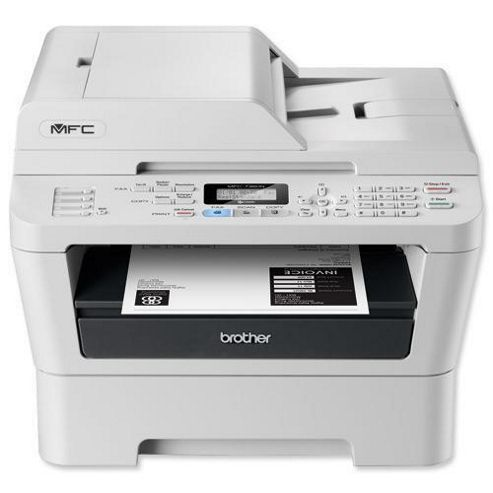 Brother MFC-7360N Laser Multifunction Printer White/Black