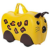 Kiddee Case Kid's Ride On Suitcase, Leopard