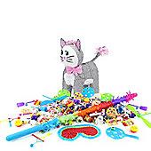 Grey Cat Pinata Kit