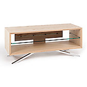 Techlink Arena Light Oak TV Stand For Up To 50 inch TVs