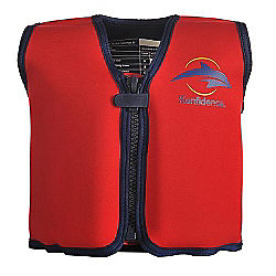 Konfidence Float Jacket Red 6 to 7 years