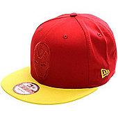 New Era Cap Co Character Poptonal Iron Man Snapback Cap - Red