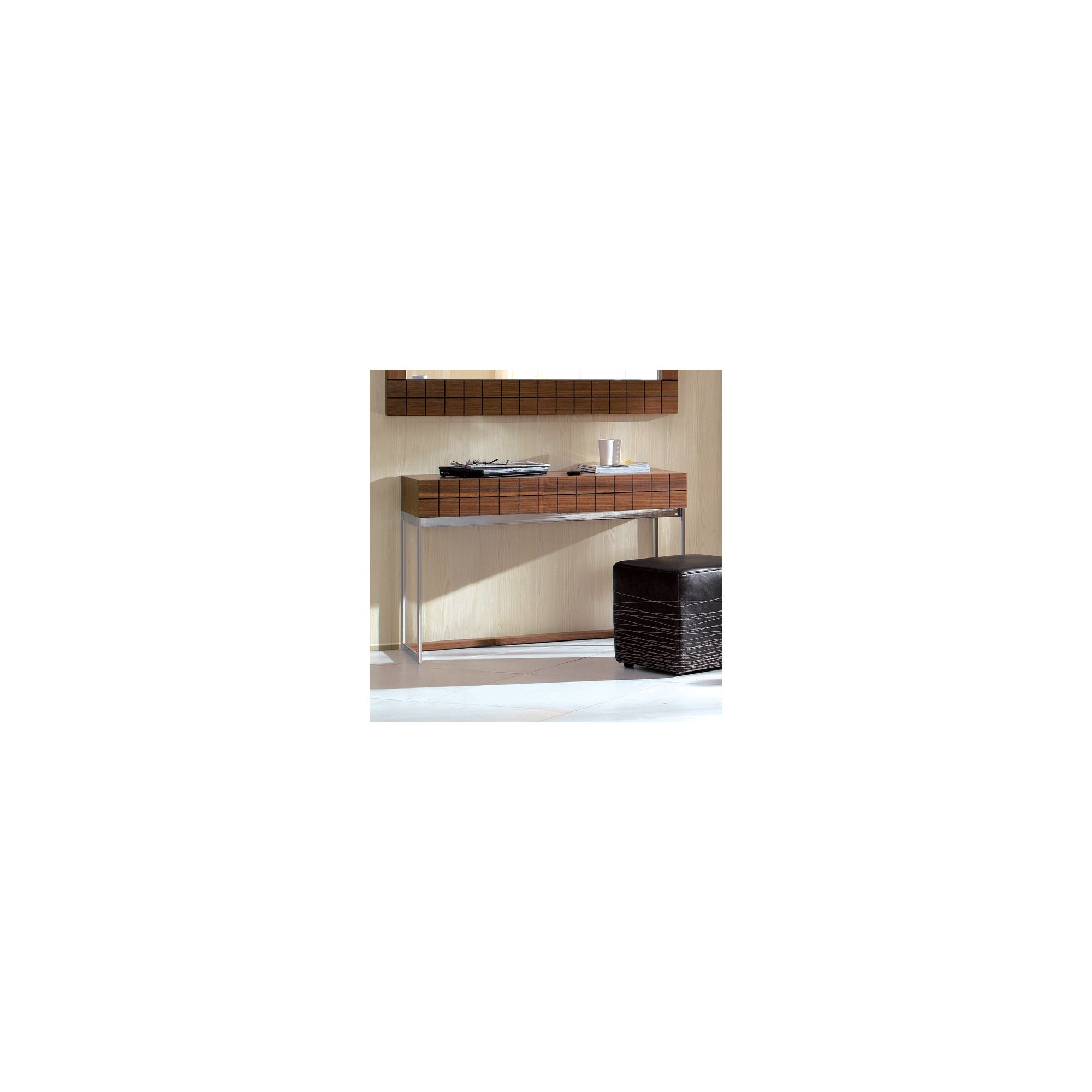 Gillmore Space Barcelona Dressing Table - Walnut at Tesco Direct