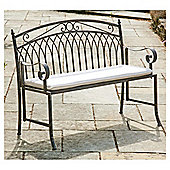 Versailles Garden Bench Cushion, Natural