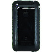 Apple iPhone 3G Smoke Grey Gel Protector Case Cover