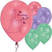 9' Disney Princess Birthday Girl (6pk)