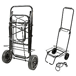 Summit Heavy Duty Folding Festival Luggage Trolley