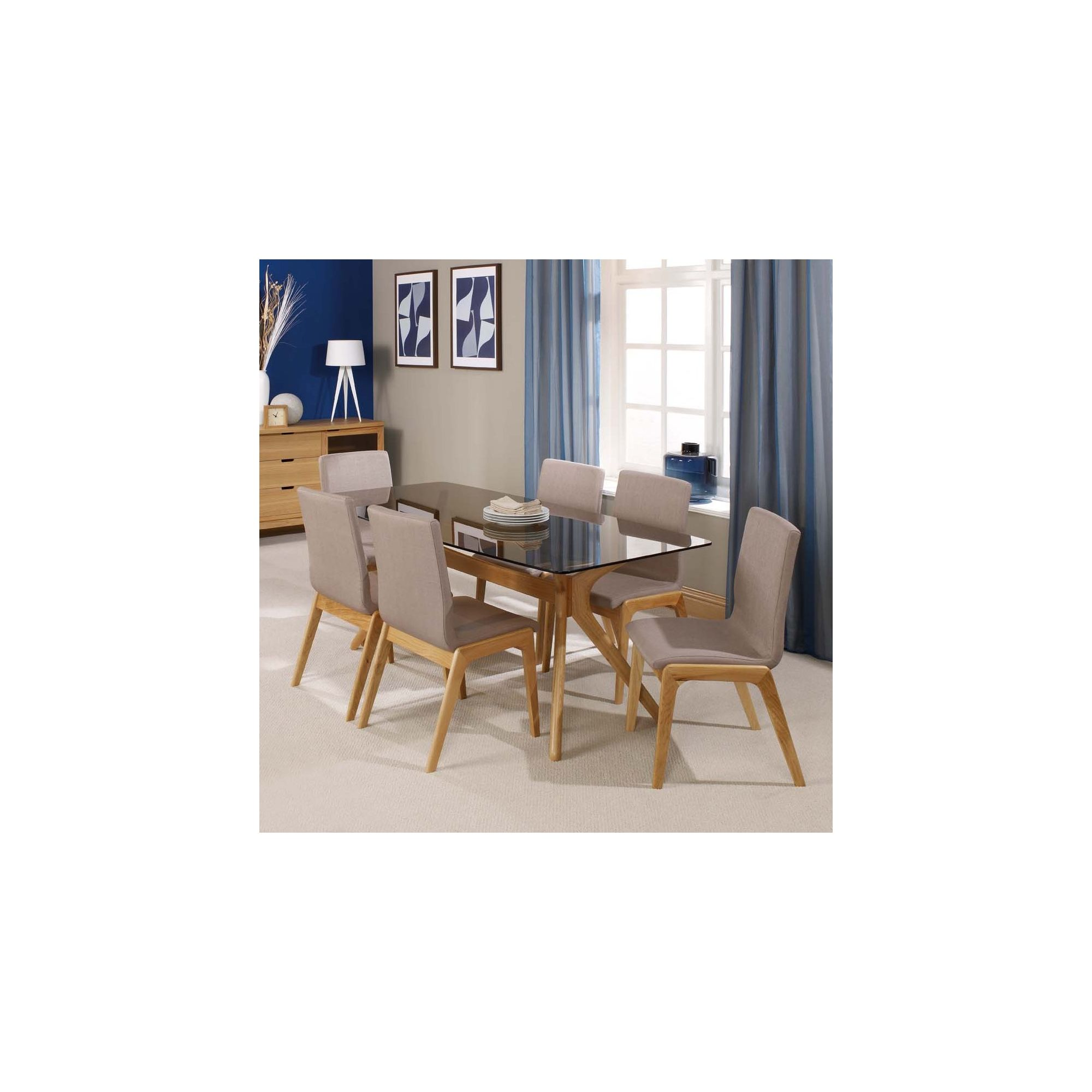 Home Zone Portofino 7 Piece Dining Table Set