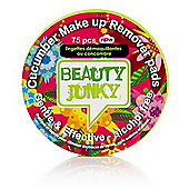 NPW Beauty Junky Make Up Remover Pad Cucumber (75 pcs)