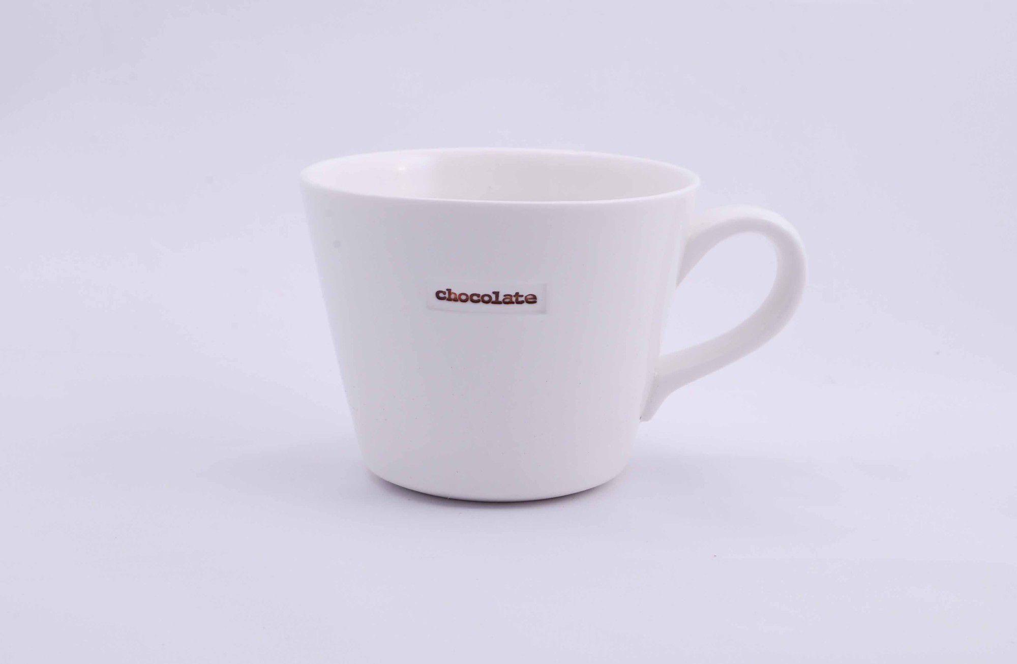 Keith Brymer Jones 'chocolate' Bucket Mug (Boxed Pair)