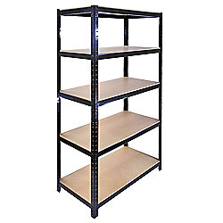Homegear Heavy Duty 5 Tier Steel Shelving Unit /Garage Storage, 265Kg