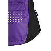 Adrenaline Bike Cycling Bicycle Womens High Visibility Cycle Jacket - Purple
