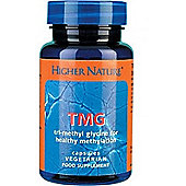 Higher Nature Tmg 500mg 90 Veg Capsules
