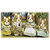 Sylvanian Families Hound Dog Family