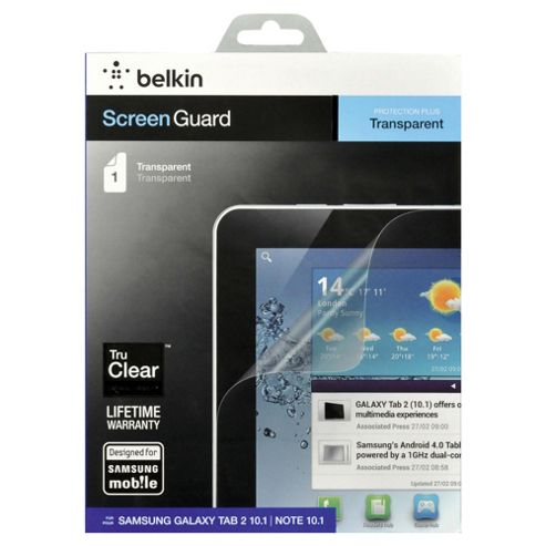 Belkin Samsung Galaxy Tab 2 and Note 10 Inch Screen Protector