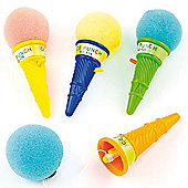 Party Bag Ice Cream Sponge Poppers (Pack of 6)