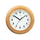 Acctim 92W/355 Avebury Wood Wall Clock Pine