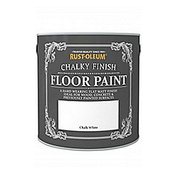 Rust-Oleum Chalk Chalky Floor Paint - Chalk White - 2.5L