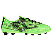 adidas F5 FXG Kids Junior Firm Ground Football Boot Green - Green