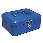 Sterling Blue Metal Cash box - Medium