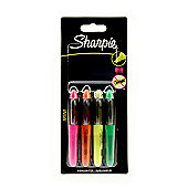 Sharpie Highlighters - Mini 4pk