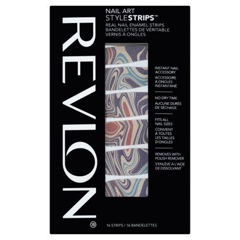 Revlon Nail Art Style Strips Marble Arts