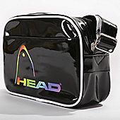 Head Fusion Glossy PU Shoulder Bag
