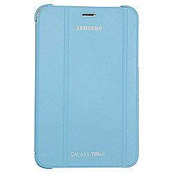"Samsung Galaxy Tab 2 Book Cover Case with Stand 7""- Light Blue"