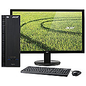 "Acer Aspire XC-703 21.5"" LED Monitor with Tower, Intel Cel 4GB RAM, 500GB  Black"