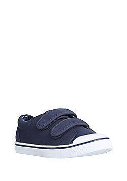 F&F Riptape Canvas Shoes - Navy