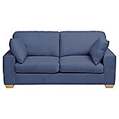 Whitstable Large 3 Seater Sofa bed, Denim
