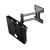 Mountech AJL11B Articulated TV Wall Mount For 23 inch -37 inch Flat Screens with Unique G-Fit Guarantee