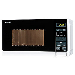 Sharp Solo Microwave R272WM Compact 20L, White