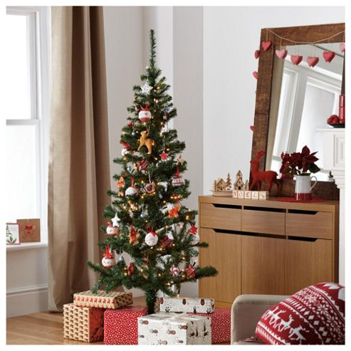 Green 6ft Christmas Tree, Tesco