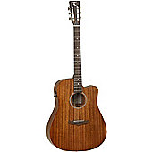 Tanglewood Premier Solid Mahogany Dreadnought Electro