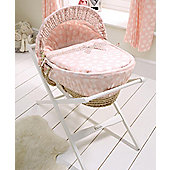Mamas & Papas - Pink Lemonade - Moses Basket