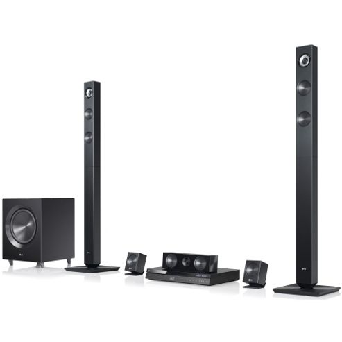 LG BH7420P 3D Capable Blu-ray/DVD 5.1 Home Cinema System