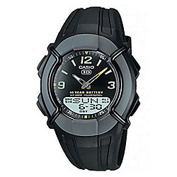 Casio Casio Collection Mens Resin World Time Watch HDC-600-1BVES