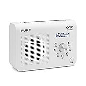 Pure Classic Series II DAB Digital & FM Radio - White