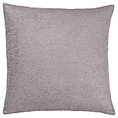 Texture Chenille Cushion Grey Large