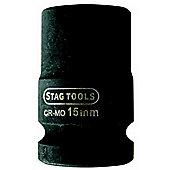 """""""Stag Super Impact Socket 1/2""""""""D 15mm"""""""