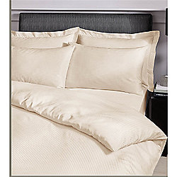 Catherine Lansfield Platinum Cream Housewife Pillowcases 300 Thread Count