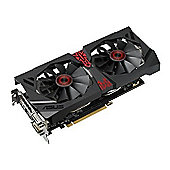 Asus Radeon R9 380 AMD Graphics Card 2GB DDR5 DP / HDMI / 2x DVI STRIX-R9380-DC2OC-2G