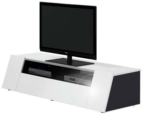 Jahnke Luxor 4 Game White TV Stand