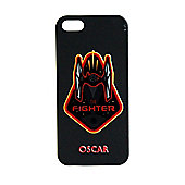 Star Wars Force Awakens Personalised iPhone 5 black Cover Fighter